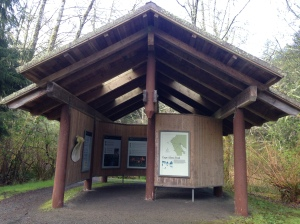 Trailhead gazebo